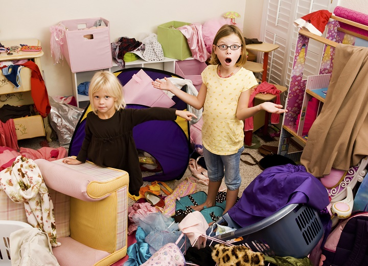 ребенок и порядок в доме