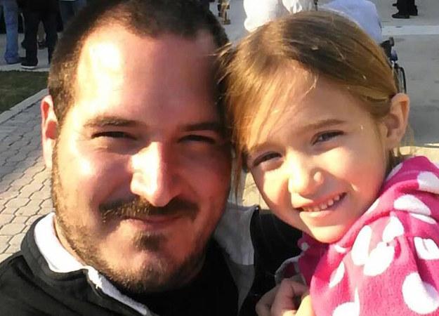 Филипп Моргезе с дочерью