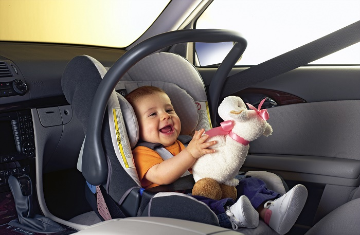 Как возить беременную в машине