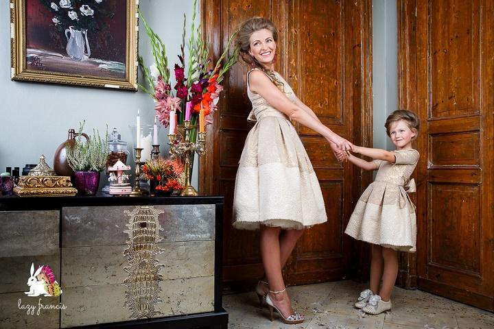стиль мама и дочь
