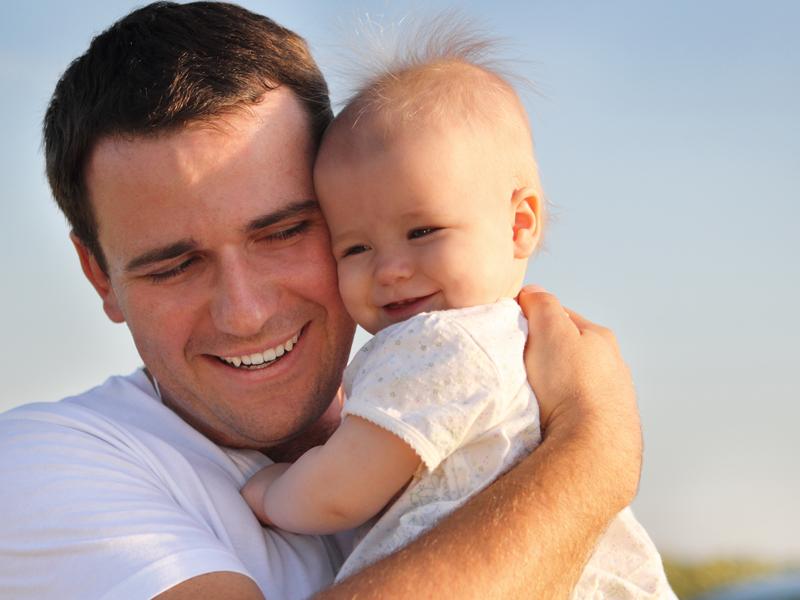 Картинки отцов с малышами