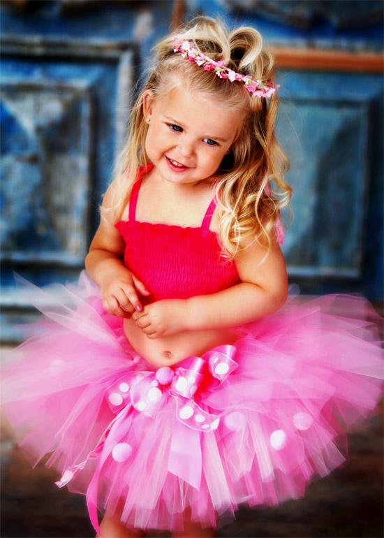 девочка в балетной пачке