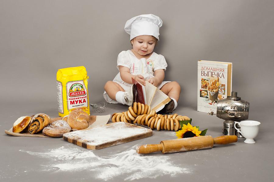 ребенок и готовка