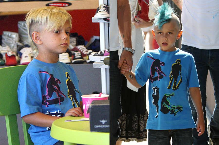 модная краска для мальчика