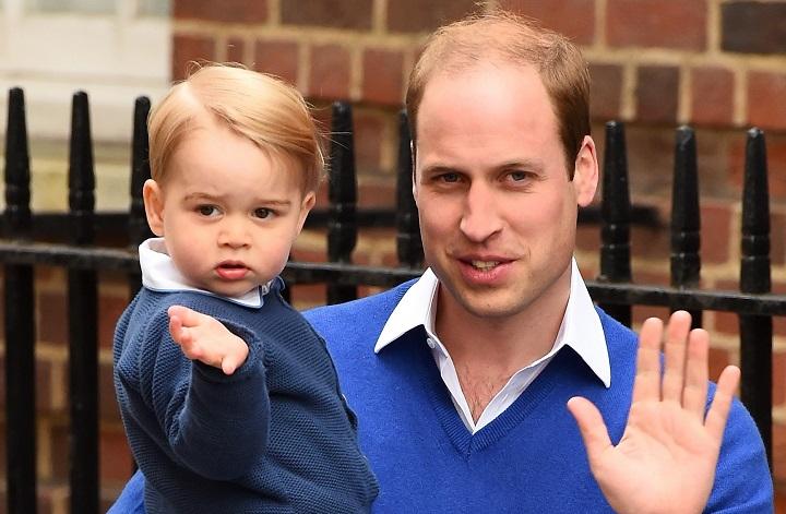 принц уэльский с сыном