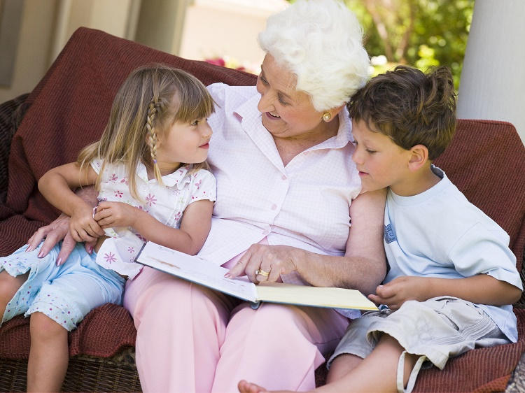 Когда с бабушкой не ладится