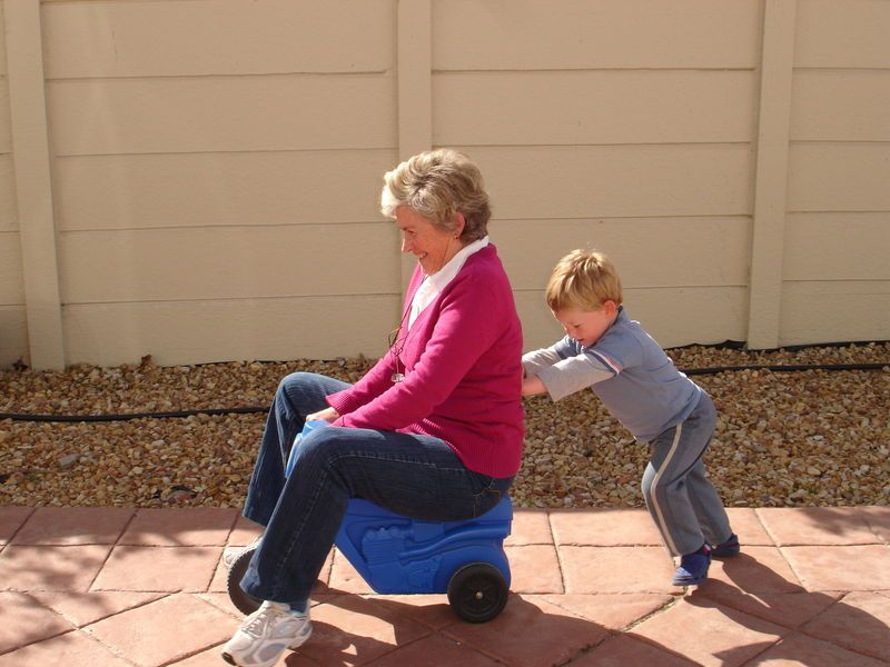 бабушка и внук фото