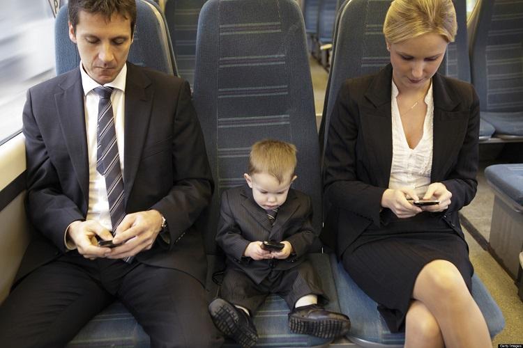 занятые родители