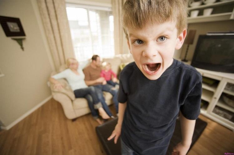 ребенок командует родителями