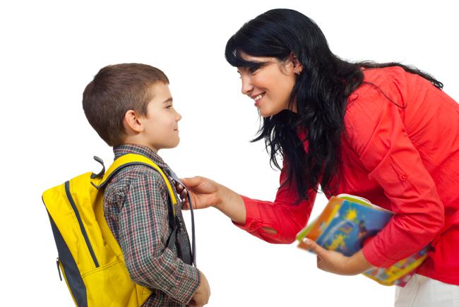 сборы ребенка в школу
