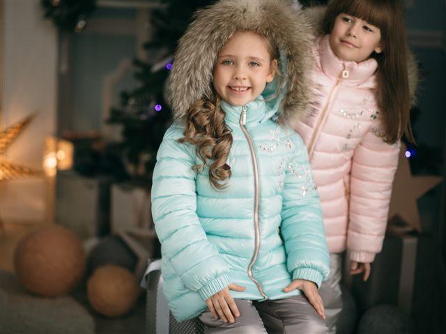 детские зимний костюмы для девочек