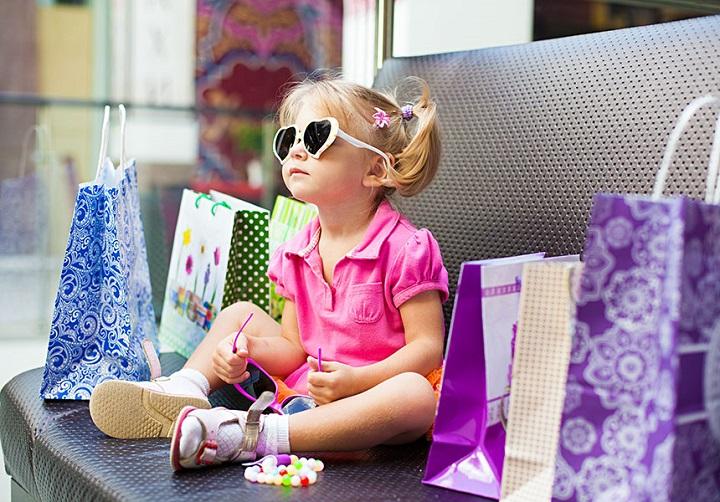 шопинг с детьми