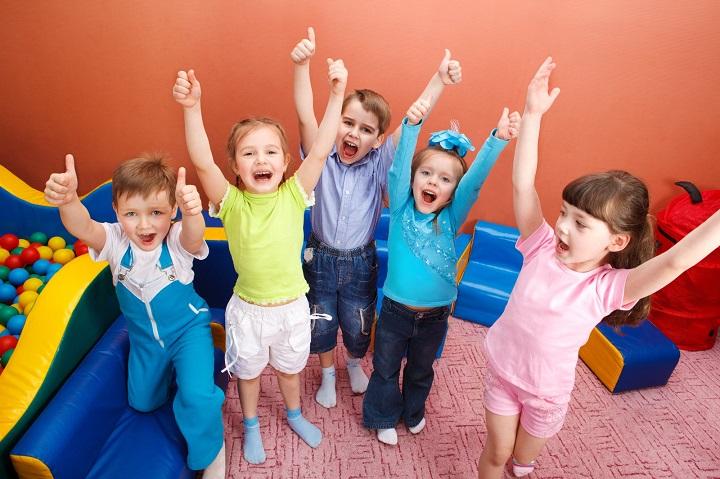 дети радуются