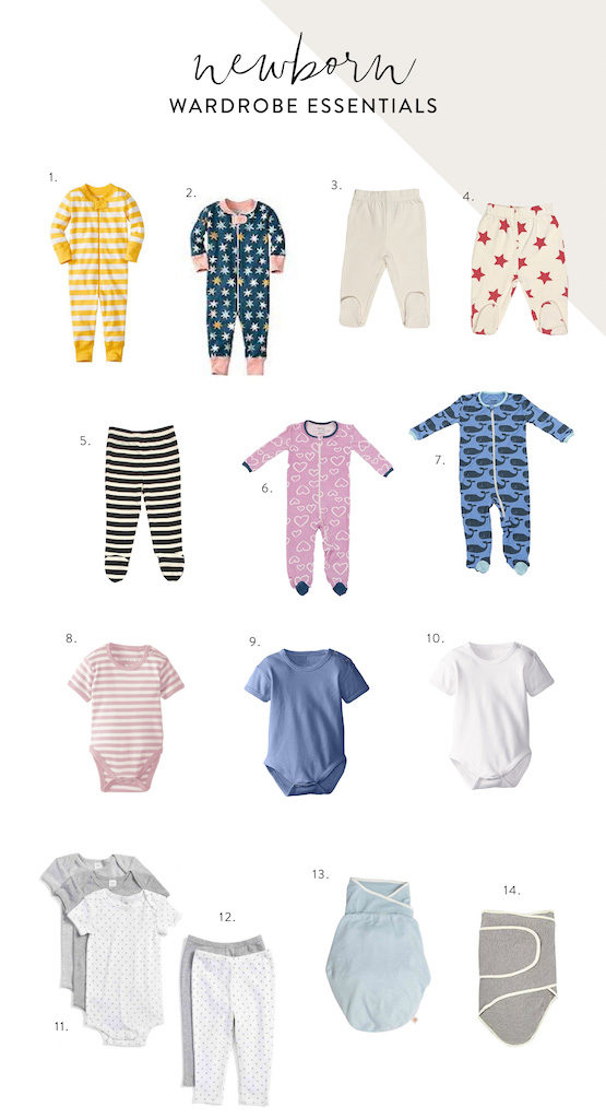 Капсульный гардероб для младенца