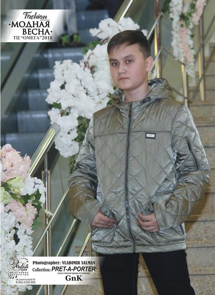 Верхнюю детскую одежду G'n'K показали на «Модной весне»