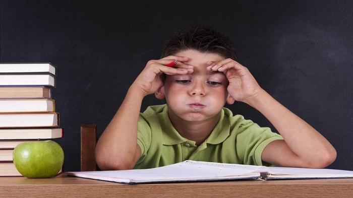 ребенок в стрессе фото