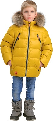детская зимняя куртка gnk