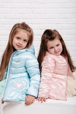 детские куртки для девочек gnk фото