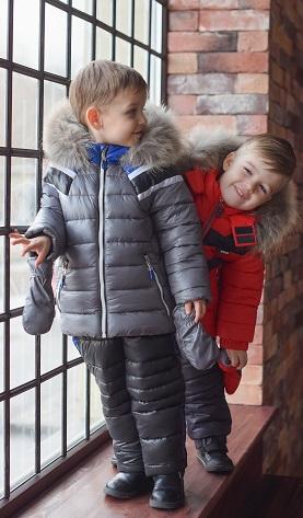детские пуховики gnk фото