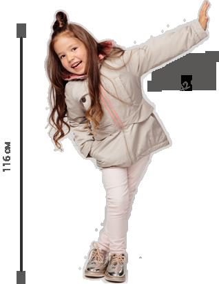девочка в куртке gnk