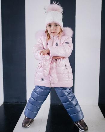костюм зимний для ребенка gnk фото
