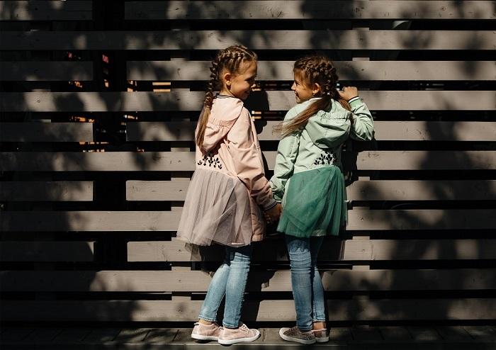 детские ветровки gnk на девочках фото