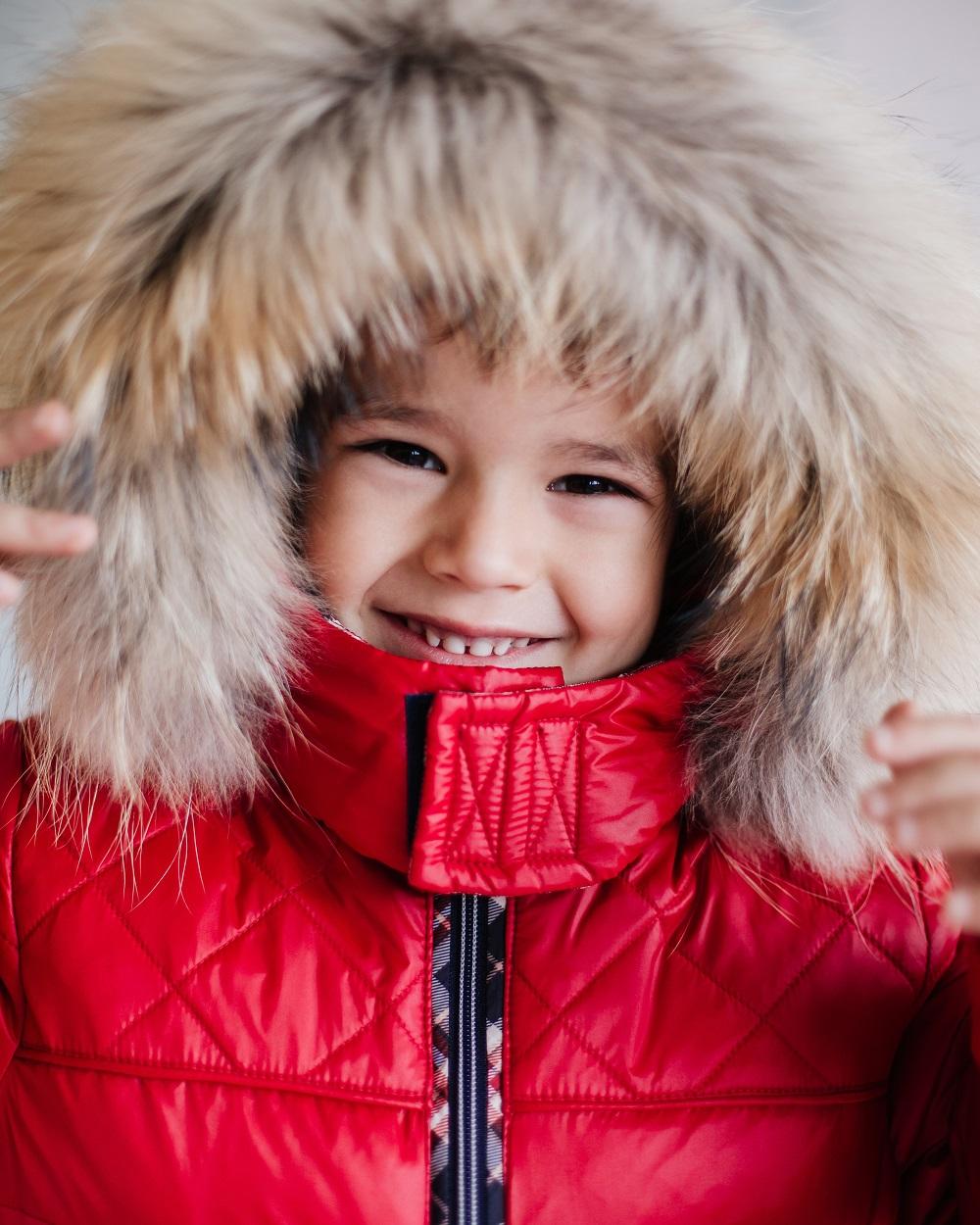 детская зимняя куртка фото
