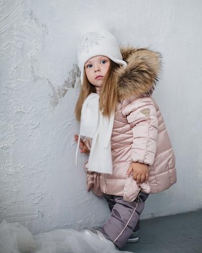 детский зимний костюм для девочки фото