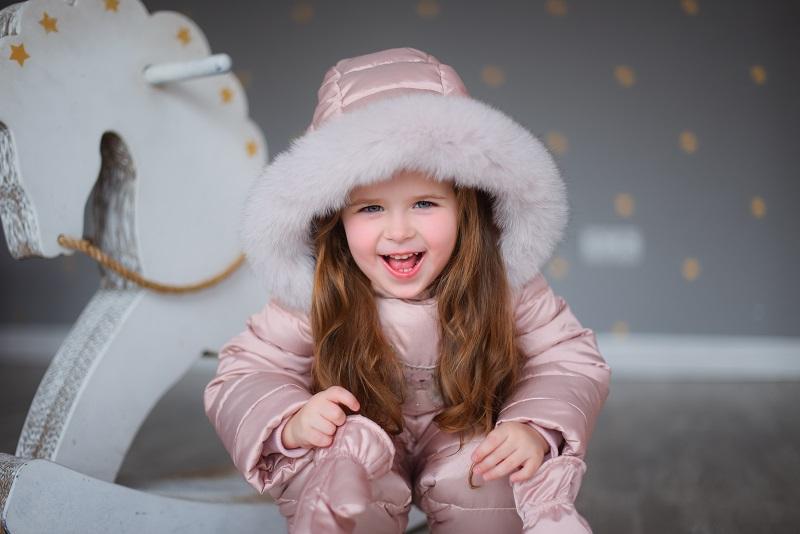 детский зимний комбинезон фото