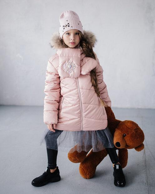 зимнее пальто для девочки фото
