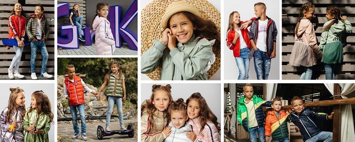 детская демисезонная одежда GnK 2019 фото