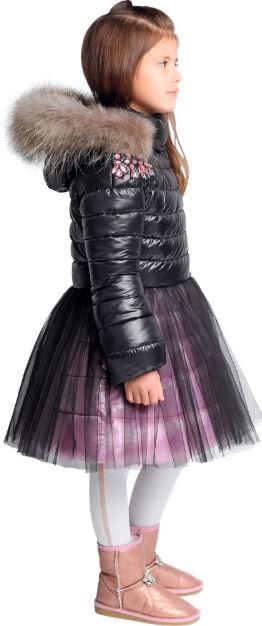 зимнее пальто для девочки з-775 gnk фото