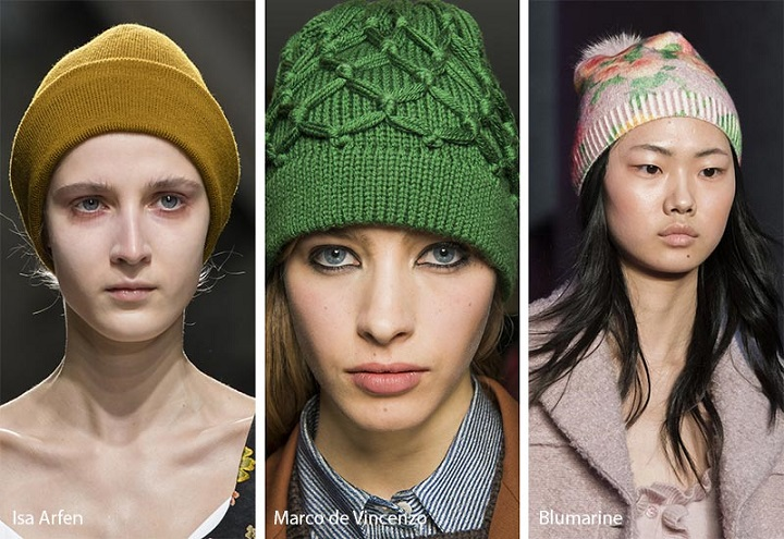модные шапки 2019 фото
