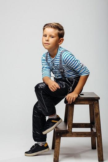 брюки для мальчика gnk