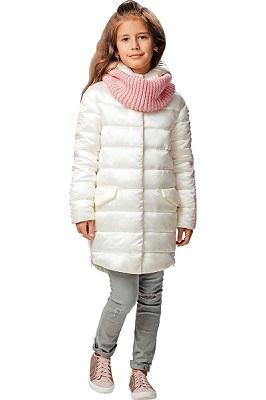 пальто демисезонное для девочки С-633 фото