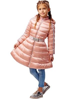пальто демисезонное для девочки С-634 фото