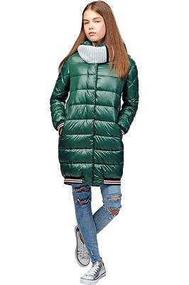 пальто демисезонное для девочки С-635 фото