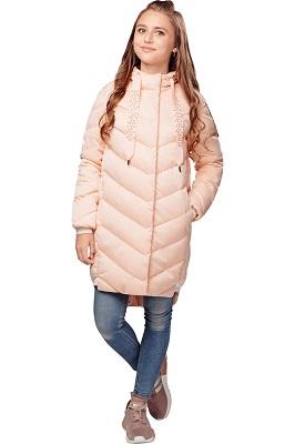пальто демисезонное для девочки С-637 фото