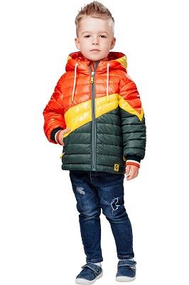 куртка демисезонная для мальчика С-614 фото