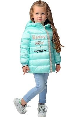 куртка демисезонная для девочки С-623 фото