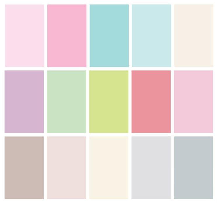 Цветовая гамма фото