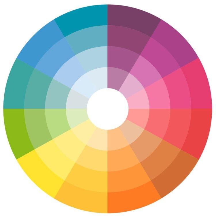круг цветов фото