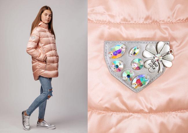 куртка для девочки-подростка С-608 фото