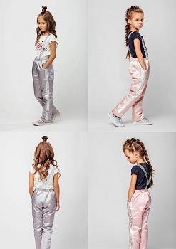 брюки для девочки с-611 фото