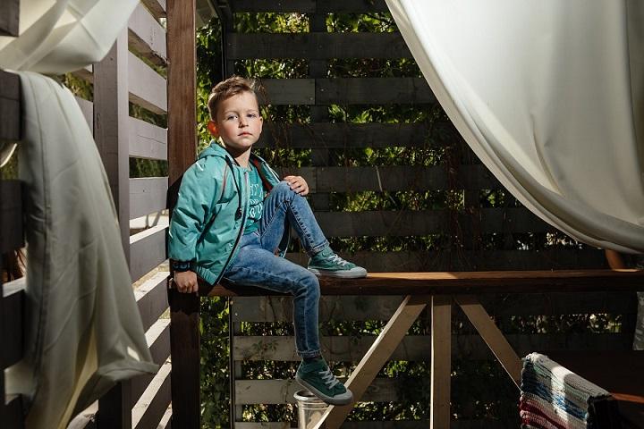 ветровка для мальчика С-645 фото