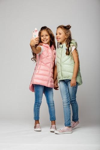 дутые жилеты для девочек фото