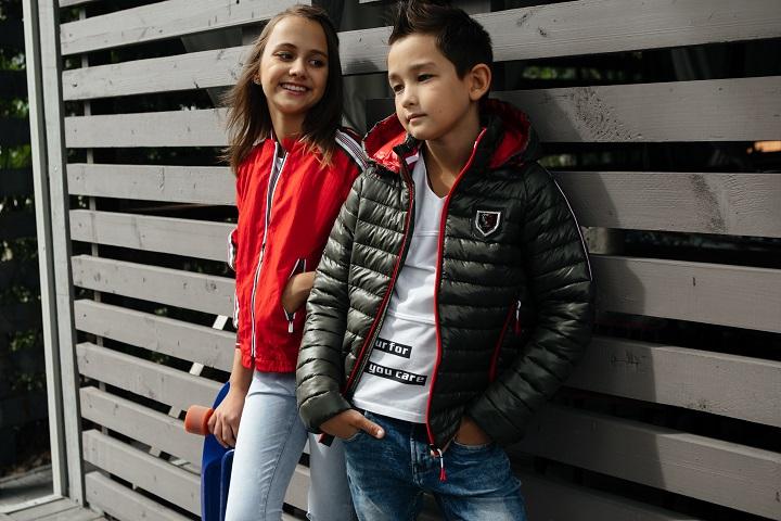 демисезонные детские куртки фото