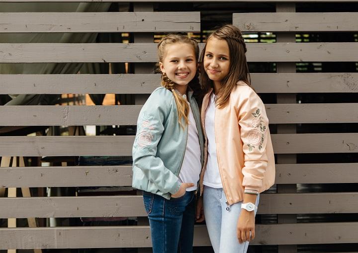 ветровки для девочек фото