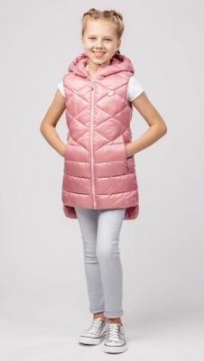 утепленный жилет для девочки-подростка фото