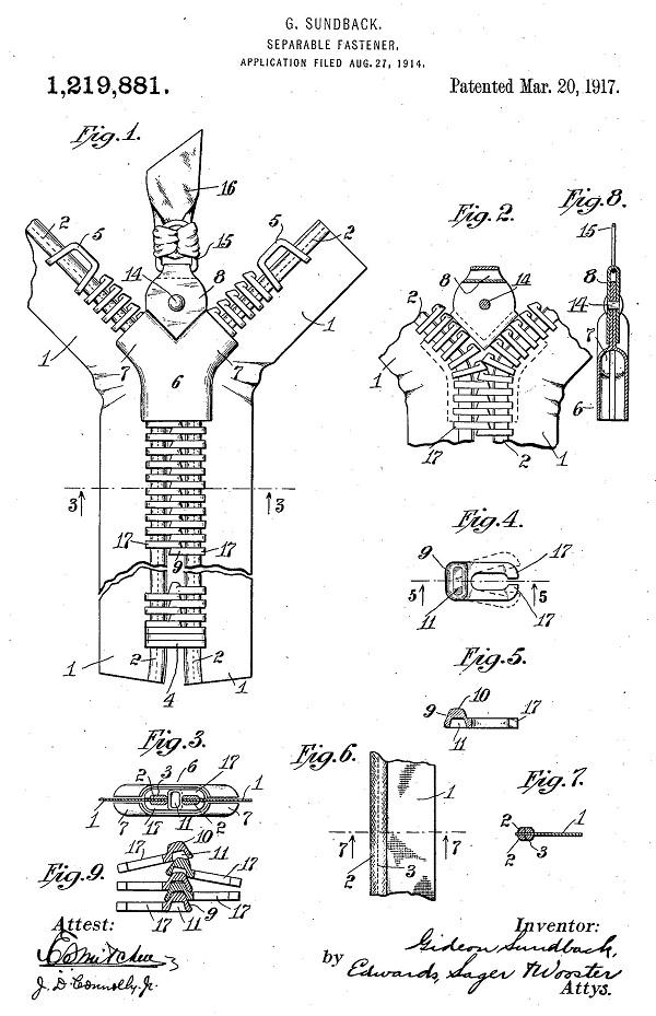 Гидеон Сундбэк патент фото